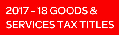 Service Tax titles 2017